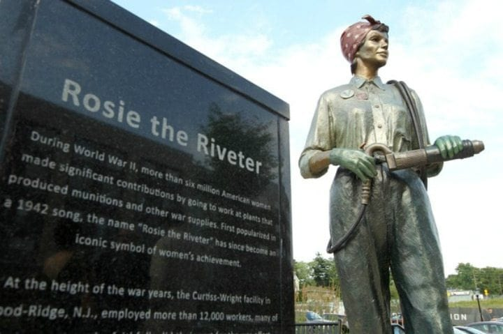 The True Identity Of Rosie The Riveter From Infamous We Can Do It