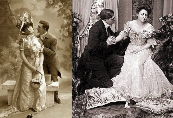 Victorian era dating rules
