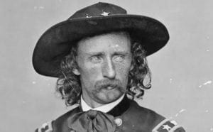 Lt. Colonel George Armstrong Custer, Sitting Bull, Little Big Horn River, June 25, 1876