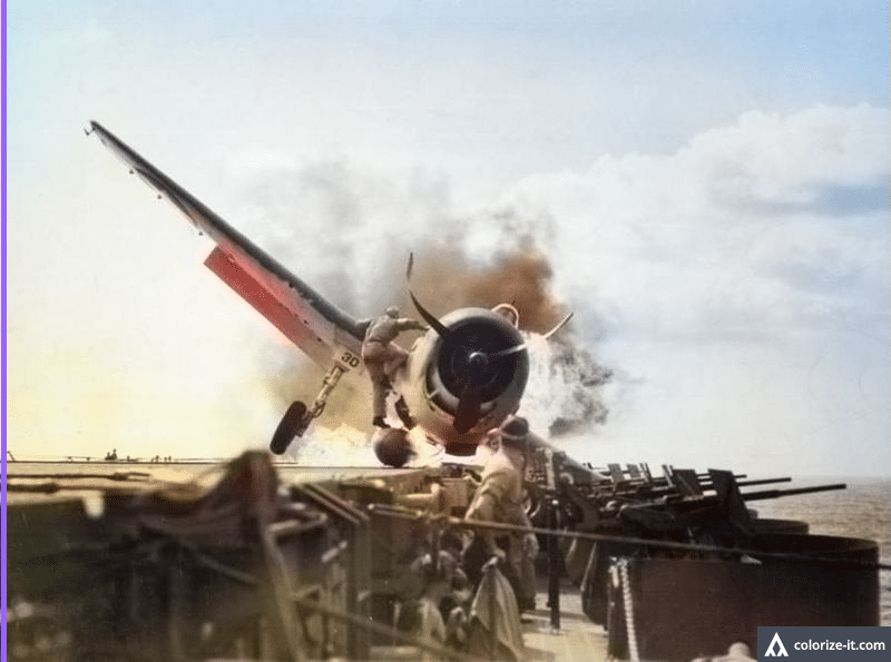 WWII, F6F Hellcat, aircraft carrier, Pacific Theater, hero, valor, Lt. Walter L. Chewning, Byron M. Johnson, US Navy, US Marines