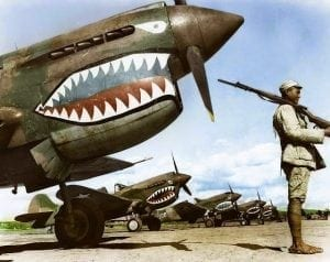 Flying Tigers, Pappy Boyington, Tex Hill, Claire Chennault