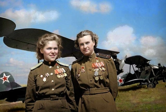 WWII, Night witches, Red Army, Soviet Union, women soldiers, female soldiers, Hero of Russia, WWII