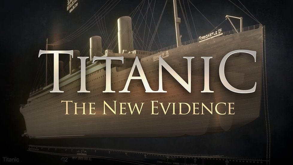 documentary promo for Titanic: The New Evidence