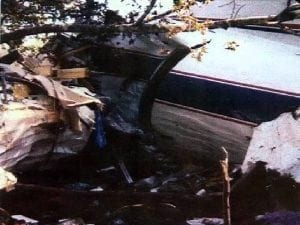 Ronnie Van Zant, Lynyrd SKynyrd, plane crash, October 20 1977